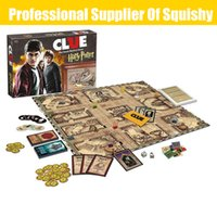 Wholesale figures toys harry potter online - Clue Harry Potter Board Game Action Figures Collector s Edition Brand New Sealed Set Witchcraft Game Collection Cards Kit Toy
