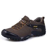 ingrosso scarpe escursionistiche scarpe da arrampicata-Offerta speciale Medium (b, m) Scarpe da trekking Stringate in pelle Outdoor 2017 Sport Uomo Arrampicata Outventure Sapatos Masculino # 97167