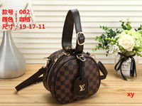 Wholesale free knit crochet patterns resale online - 2019 Europe And The United States New Tide Ladies Handbag kubao Word Pattern Small Fragrance Chain Bag Shoulder