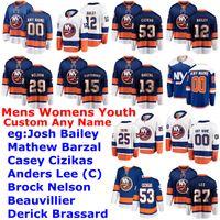 Wholesale nick leddy jersey for sale - Group buy New York Islanders Jerseys Womens Johnny Boychuk Jersey Matt Martin Noah Dobson Nick Leddy Scott Mayfield Ice Hockey Jerseys Custom Stitched