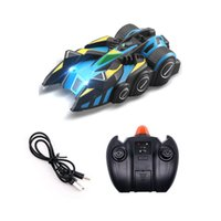 Wholesale rc climb car for sale - Group buy Kids Boys RC Car Stunt Electric Climbing Wall Car Infrared Light Stunt Car Drift Racing Four wheel Drive Cars Teens Birthday Gifts