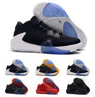 ingrosso ragazzo scarpe nuovo stile-Hot New Kids Kids Style ZOOM Freak 1 Giannis Antetokounmpo GA I 1S Signature Scarpe da basket economici GA1 Youth Girls Donne Sneakers sportive Si