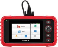 scanner de código srs venda por atacado-Ferramenta de diagnóstico LANÇAMENTO CRP123X OBD2 Scanner Check Engine ABS SRS Transmissão Código Leitor Car LCD Touchscreen Update Versão de CRP123