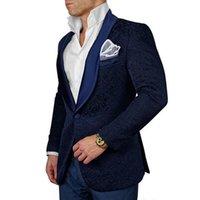 groomsmen tuxedos venda venda por atacado-Crazy2019 Venda Quente 8 Cores Homens Ternos de Casamento Slim Fit Noivo Smoking Groomsman Ternos Blazer Para Homens 2 Peça (Jacket + Calças)