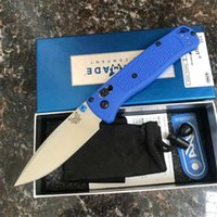 benchmade borboleta edc venda por atacado-Benchmade BM 535 AXIS Folding Pocket Knife Polymer Handle S30V Lâmina Outdoor Camping Mini EDC borboleta faca