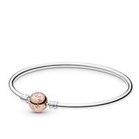 bracelets femmes de qualité achat en gros de-2019 Nouvelle Arrivée Top Qualité Pandora Bracelets Femmes pulsera de Bracelets Or Signature Fermoir Argent Bracelet Charme Bracelet Pas cher Cadeau D'été