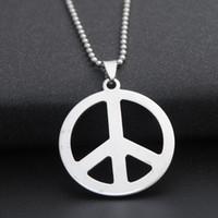 5 Pcs Tibetan Silver CND Peace Pendant Charms Jewellery Craft Beading L42