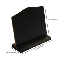 tahta tablo toptan satış-A6 Masa Üstü Blackboard Standı Menü Standı Fiyat Ekran Tebeşir Duyuru Panosu Sayaç Üst Bülten Tahtası Masası Burcu Afiş Standı