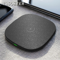 Wholesale note wireless charger pad online – Wireless phone charger fast wireless charging pad compatible iPhone pro max huawei P30 pro Xiaomi mi Mix3 Note plus