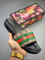 lange halbe perücken brasilianisch großhandel-2420 NEVERFULLLouisVuittonGucciWomens Mans Hausschuhe flachen Schienen Sandalen Flip Flop-Sommer-Schuhe Fashion Slip-Hausschuhe