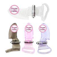 Wholesale shoes for finger online - Danceyi Sex toy Dancer Finger Vibrator Vibmax Dancing Finger Shoe Clitoral G spot Stimulator Sex Toys for Women av017