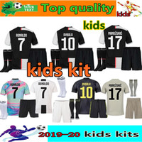 a63556d90 2019 2020 RONALDO soccer jersey kids kit uniform18 19 20 juve DYBALA  MANDZUKIC child football jerseys kids football kits Camiseta de futbol