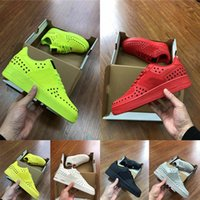 Wholesale top male shoes designers resale online - Top Quality Red Lime Green Dunk S One Utility Mens Running Shoes Fashion Luxury Designer Men Sneakers Male Flats Trainers Size