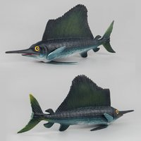Wholesale hot selling diy toys resale online - Hot Selling Model Marine Organism Sea Eel Dunkleosteus Sailfish Solid Seabed Animal CHILDREN S Toy