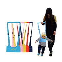 ingrosso guinzaglio giallo-Baby Walker, Baby Harness Assistant Toddler Leash per bambini che imparano Walking Baby Belt Child Safety Harness Assistant G0312