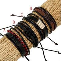 fabricantes estrangeiros de jóias venda por atacado-A geração de gordura pulseira trançada Detalhes Jewelry Manufacturers Direct Selling couro genuíno mão jóia de comércio exterior