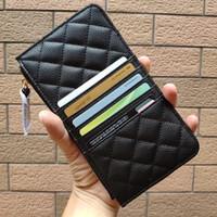 brieftasche design für damen großhandel-NEW 2019 Fashion Hand nehmen Geldbeutel Telefonkarte Paket C Wallets Metall Brief Kartenhalter für Damen Gegenstände zu sammeln Luxus-Design Geschenk vip