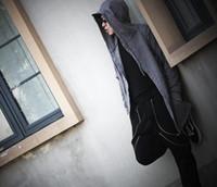 d03a2fa18f Fashion Mens Hip Hop Swag Sweatshirt Hoodies chandal hombre Jakcet Gothic Wizards  Clothes Plus Size Cape Coat Man