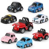 clássicos mini carros venda por atacado-Dump-car Pull Voltar carro mini-liga de construção de veículos Engenharia Car Dump Truck Modelo clássico Toy Mini melhor presente