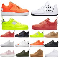 Wholesale new arrival sports shoes boys resale online - New Arrival Utility Classic Black White Dunk Men Women Casual Shoes red one Sports Skateboarding High Low Cut Wheat Trainers Sneaker US