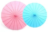 Wholesale craft materials for kids for sale - Group buy 100pcs Chinese colorful Umbrella China traditional dance kindergarten diy paint art material for kids oil paper A231