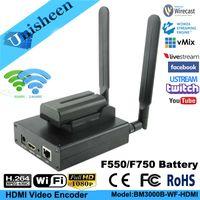 video iptv toptan satış-Çok yönlü H.264 Encoder 1080 P Oyun akışı Kamera Yakalama Streamin Taşınabilir akış kodlayıcı kablosuz IPTV kodlayıcı H264 video verici