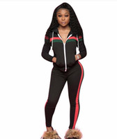 ropa ajustada sexy al por mayor-114 Diseñador de la marca mujeres jogging traje conjunto de 2 piezas chándal crop top leggings trajes ropa deportiva camisa medias sudadera ropa sexy