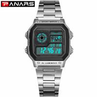 Wholesale wrist watch timer for sale - Group buy PANARS Luminous Business Watch Multi function Women s Waterproof Wrist Watch Fitness Digital Watch Alarm Timer Clock Girls