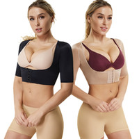 Wholesale arm slimmers belt resale online - Joyshaper Women Arm Slimmer Body Shaper Vest Chest Brace Up Back Bra Support Posture Corrector Shapewear Shoulder Belt Tops