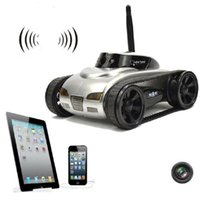 Wholesale military carrier resale online - 777 WiFi FPV Tank Real Time Transmission Camera Video Military Model Toy Gift