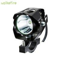 faro transformador de la motocicleta al por mayor-Walkfire Transformers T6 LED Motocicleta Conducción Faros de niebla Luz delantera de la bicicleta Luz Bicicleta Manillar Spot Linterna Faros # 711330