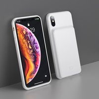 Wholesale power battery phone case online – 3300mAh Power Bank Case Charging For iPhone X XS XR XS Max Battery Charger Case Power Bank Charger Case Mobile Phone