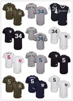 beyzbol formaları kırmızı toptan satış-Erkek Kadın Gençlik # New York # 5 Joe DiMaggio 34 Jamie Garcia