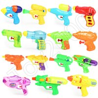 Wholesale mini air spray gun for sale - Group buy Summer Creative Water Guns Children Outdoor Interesting Beach Spray Toy By Air Pressure For Kids toys