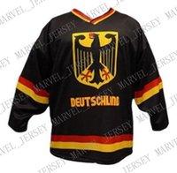 jerseys negros de alemania al por mayor-
