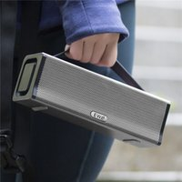 altavoces inalámbricos usados al por mayor-EWA D560 Altavoz portátil de 2 canales, estereofónico, fuerte, 20W, de alta potencia, para al aire libre / calle / fiesta Altavoz Bluetooth inalámbrico usado