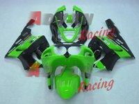 kit de carenado moto zx7r al por mayor-Alta calidad Nuevo ABS carenados de motocicletas aptos para kawasaki Ninja ZX7R 1996-2003 ZX7R 96 97 98 99 00 01 02 03 kits de carenado fresco verde negro