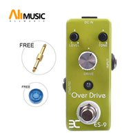 Wholesale guitar effects micro resale online - Eno Music EX Micro OD ES Classic Over Drive Guitar Effect Pedal Metal Shell Tc17 Free connector