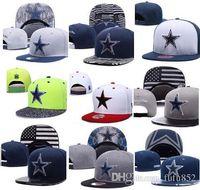 Hot wholesale 100% Top Quality Newest Cowboys Casquette Cap Dallas  Adjustable Baseball Caps hip hop Hat Snapback bone Fashion dad hats 7872d5b03