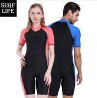 sörf ıslak mendil toptan satış-Wetsuit Likra sörf dalış takım kadınlar ve erkekler için sıcak tutmak ve moda su sporları için yeni stil takım
