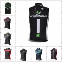 Wholesale merida cycle tops for sale - 2019 summer style Cycling Vests Men quick dry Sleeveless cycling jersey MERIDA MTB sportswear Bike Bicycle Clothing Ropa Ciclismo