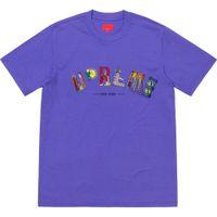 ingrosso magliette urbane di moda-19SS City Arc Tee Rainbow Urban landmark manica corta moda cotone donna coppia mens designer t-shirt HFWPTX245