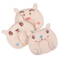 ingrosso cuscini svegli dell'orso-Cute Baby Bedding Pillows Cotone Cartoon Bear Styles Cuscino Prevenire Flat Head Support Anti-emicrania Baby Cuscino per neonato