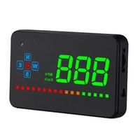 Wholesale universal car speedometer resale online - Head Up Display Projector Car Speedometer Universal Auto HUD GPS Projector OBD2