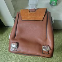 mochilas de moda al por mayor-Europ Style Luxury Orignal Real Genuine Leather Fashion Back Pack Bolso de hombro Bolso Presbyopic Mini Package Messenger Bag