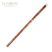 kaliteli müzik aletleri toptan satış-NAOMI Çin Flüt Bambu Flüt Nefesli Flüt Müzik Aletleri Çince Dizi D Anahtar Yüksek Kalite Yeni