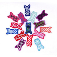 Ice Cream Holders Cute Mermaid Printing Sublimated Freezer Pop Popsicle Sleeves For Kids Summer Lily Kitchen Tools Epacket