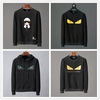 moletom italiano venda por atacado-2018 Designer de Luxo Hoodies Moda Masculina Tigre Italiano de Impressão Hoodies dos homens Camisolas de Algodão de Alta Qualidade dos homens Jaqueta