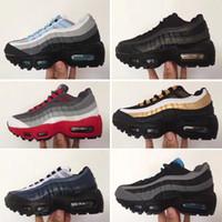 niños niña zapatillas al por mayor-Nike air max 95 2019 diseñador Classic 95 zapatos para niños, niños, niñas, deportes, zapatillas deportivas, zapatillas de deporte del niño, zapatillas de deporte de diseño correr
