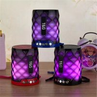 Wholesale night readers for sale - Group buy 2019 TG155 Colorful LED Bluetooth Mini Speaker Wireless Portable Soundbox Stereo Hifi Speaker with Night Light Loudspeaker
